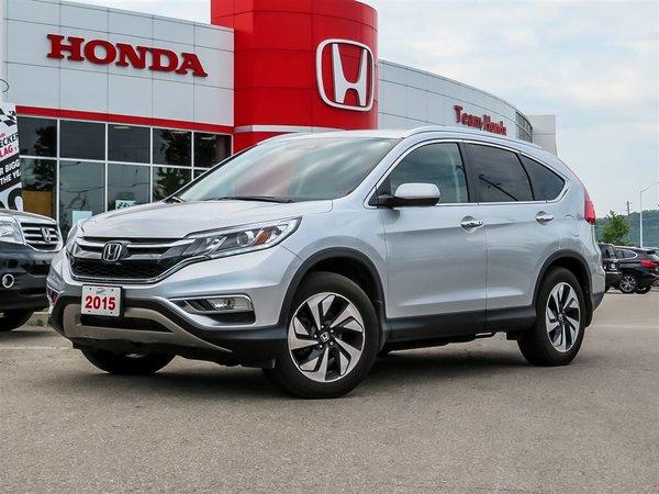 2015 Honda CR-V Touring..ONE OWNER