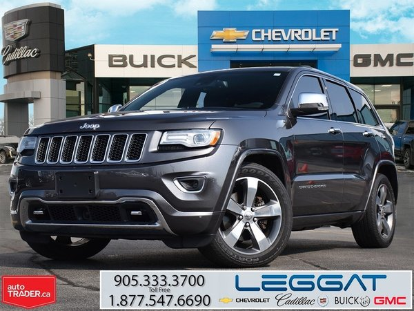 2015 Jeep Grand Cherokee OVERLAND/DIESEL/NAVIGATION