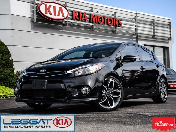 2016 Kia Forte 5-Door SX -- One Owner, Accident Free, Very Low KMs