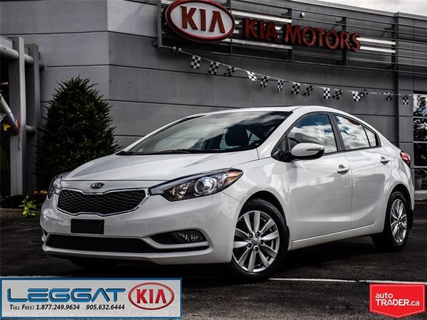 2014 Kia Forte LX+ - Sunroof, VERY Low KM, Alloy Wheels