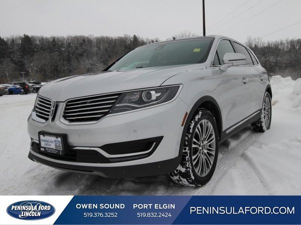 2016 Lincoln MKX Reserve  360 CAM, NAV, LEATHER, LUXURY!