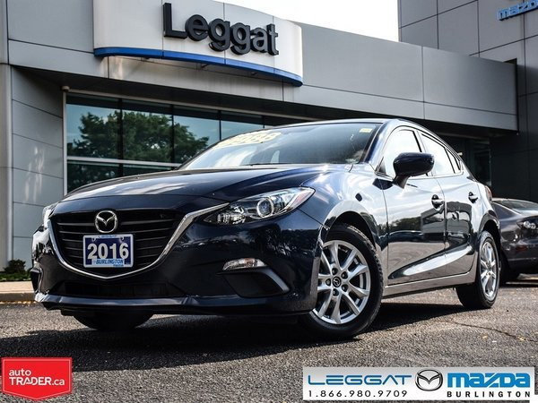 2016 Mazda Mazda3 SPORT GS AUTOMATIC NAV