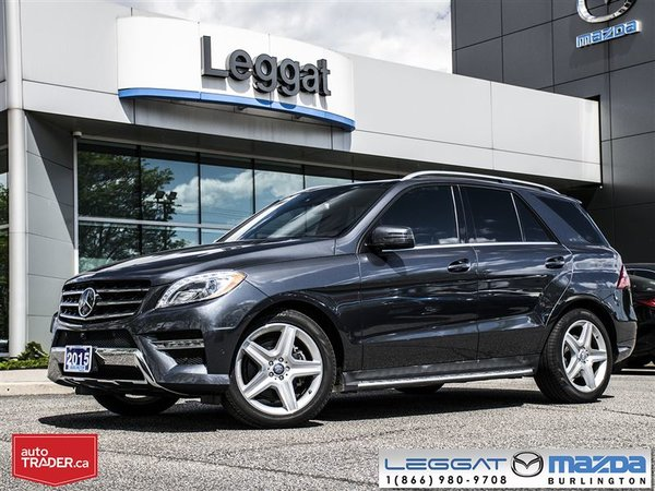2015 Mercedes-Benz M-Class BLUETEC PREM PKG SPORT PKG