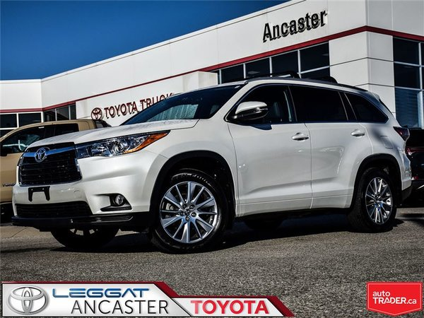 2016 Toyota Highlander XLE ONLY 19052 KMS