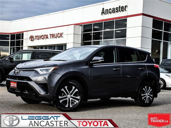 2016 Toyota RAV4 LE WITH ONLY 49822 KMS!!!