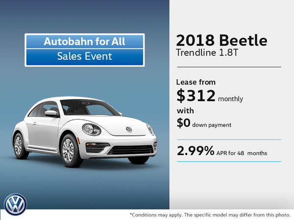 Get the 2018 Beetle Today