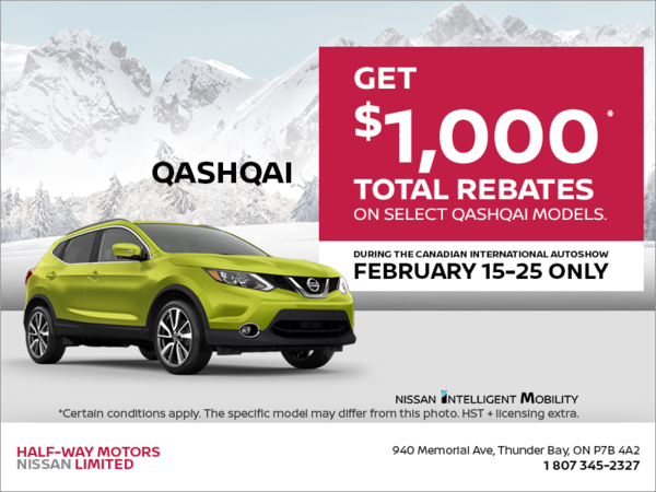 Get the 2019 Qashqai Today!