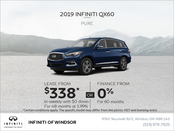 2019 INFINITI QX60 Pure