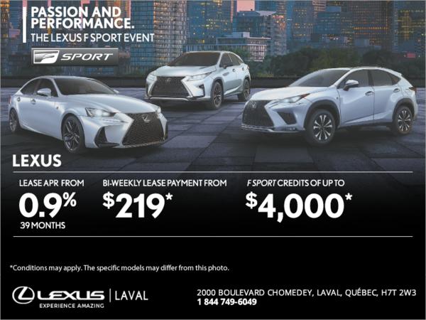 The Lexus F Sport Event