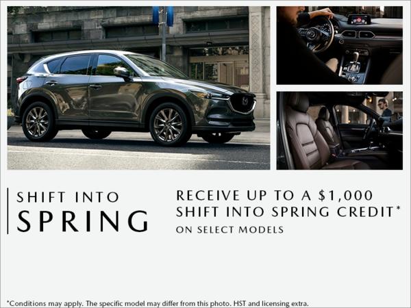 Half-Way Motors Mazda - Shift into Spring