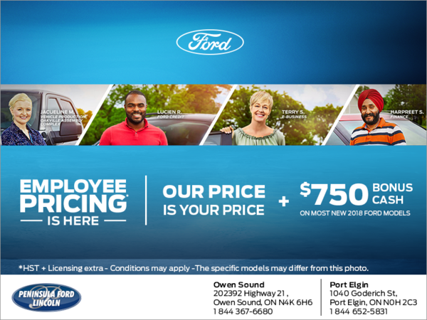 Employee pricing is here! Our price is your price.