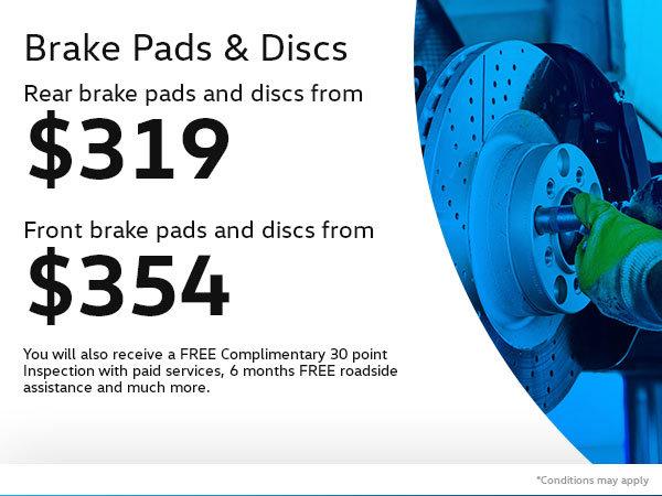 Save on VW Brake Pads & Discs