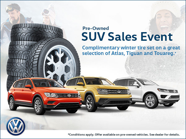 Get Ready for Winter with our Pre-Owned SUV Sales Event!