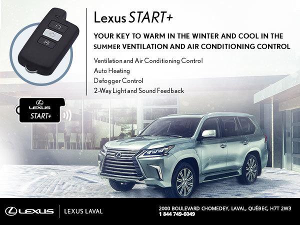 Lexus Start+