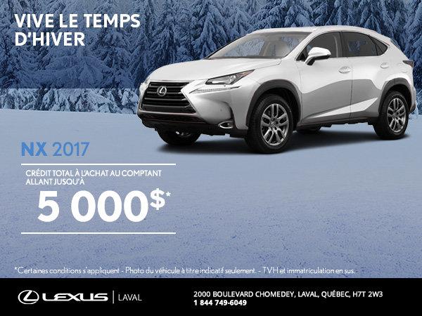 Lexus NX 2017 en rabais
