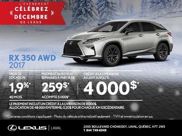 Lexus RX 350 2017 en rabais