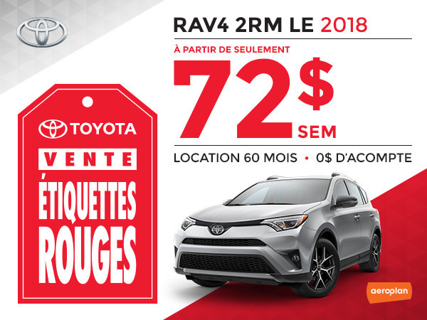 RAV4 2RM LE 2018