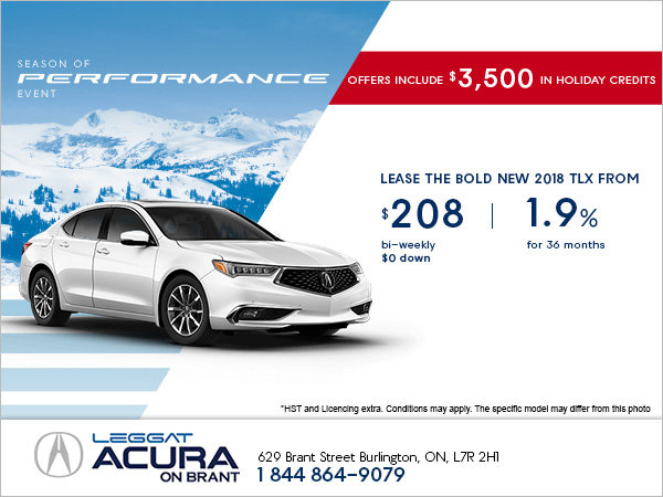 Save on the All-New 2018 TLX