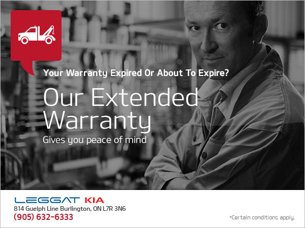 Get Peace of Mind with our Extended Warranty