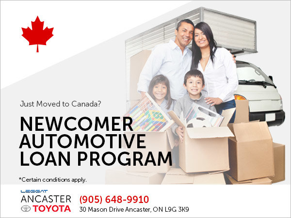 Newcomer Automotive Loan Program