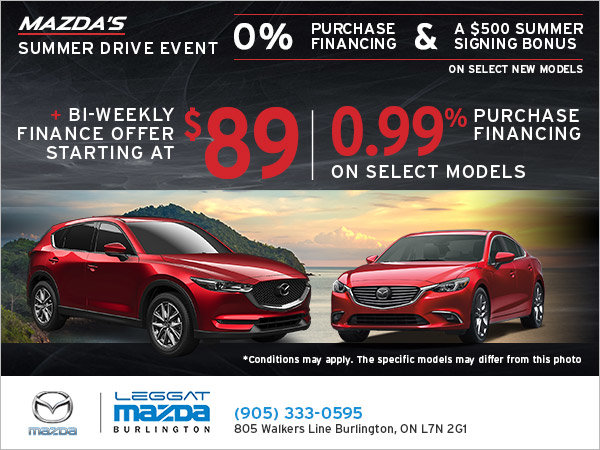 Experience Mazda's Summer Drive Event