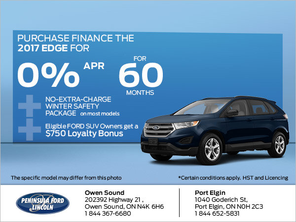 Save on the 2017 Edge
