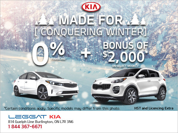 Made for Conquering Winter