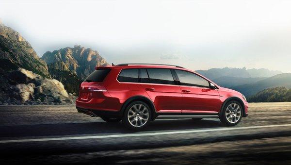 Volkswagen Golf Alltrack 2018 : polyvalente et passse-partout
