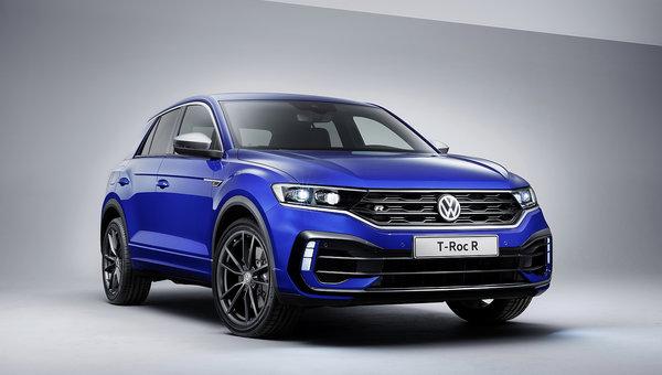 Le Volkswagen T-Roc R est une Golf R haute sur patte