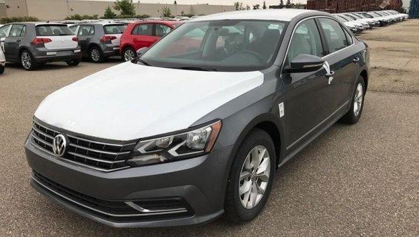 2017 Volkswagen Passat Trendline+  - Heated Seats - $174.21 B/W