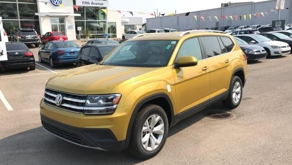 2018 Volkswagen Atlas Trendline 3.6 FSI  - $264.05 B/W