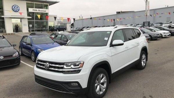 2018 Volkswagen Atlas Comfortline 3.6 FSI  - Bluetooth - $278.93 B/W