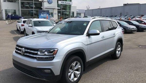 2018 Volkswagen Atlas Comfortline 3.6 FSI  - Bluetooth - $266.06 B/W