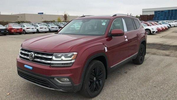 2018 Volkswagen Atlas Execline 3.6 FSI  - Navigation - $339.21 B/W