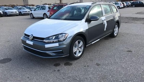 2018 Volkswagen GOLF SPORTWAGEN Trendline Manual 4MOTION  - $173.63 B/W