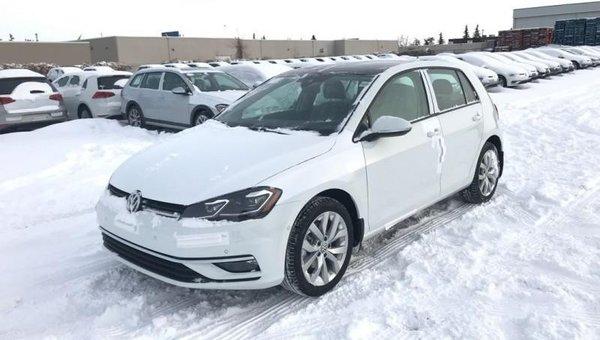 2018 Volkswagen Golf Highline  - $222.30 B/W