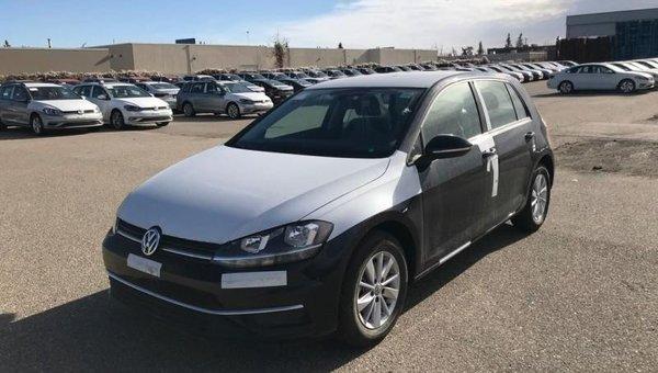 2018 Volkswagen Golf Trendline  - $159.48 B/W
