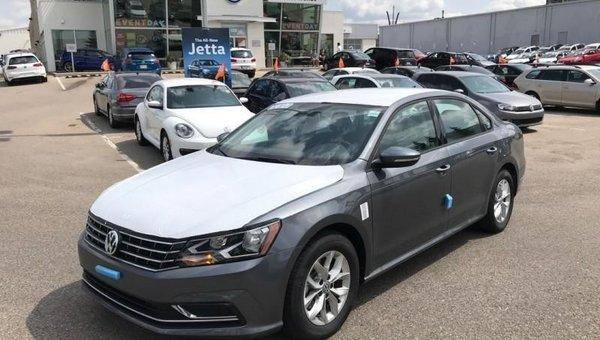 2018 Volkswagen Passat Trendline+  - Heated Seats - $180.49 B/W