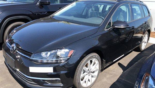 2018 Volkswagen GOLF SPORTWAGEN Comfortline 4Motion Auto