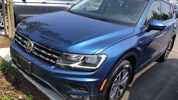 2018 Volkswagen Tiguan COMFORT 2.0 TSI 184HP 8SP AUTO TIP 4-MO WITHOUT SU