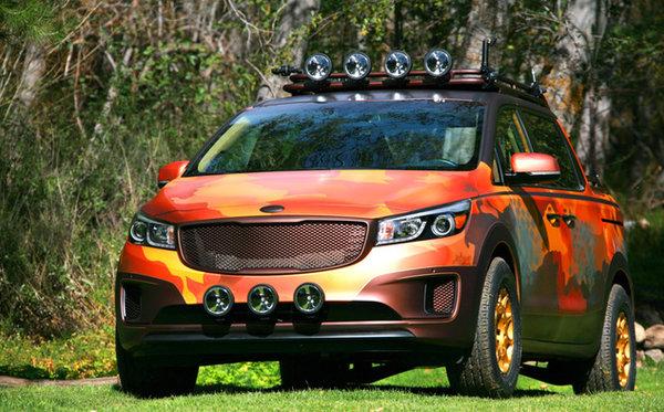 Kia présente plusieurs véhicules uniques au Salon de Los Angeles
