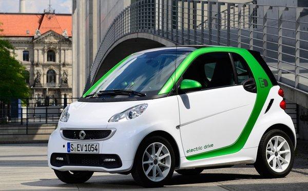 La smart fortwo électrique – Encore plus intelligente.