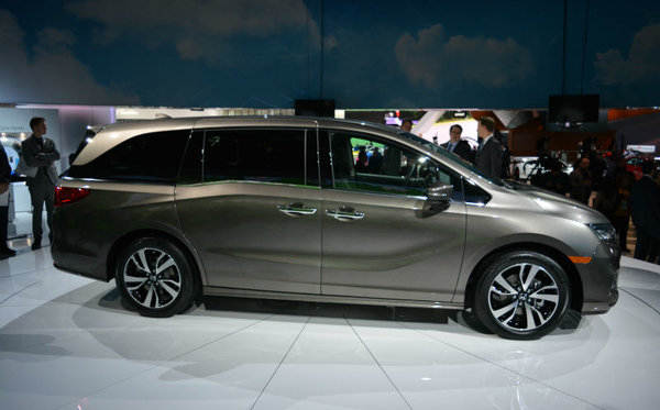 The New Honda Odyssey Launched At The Detroit Auto Show By - Portland car show 2018