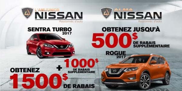Nissan prime du salon de l'auto