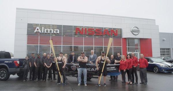 Alma Nissan - fier partenaire de Festivalma