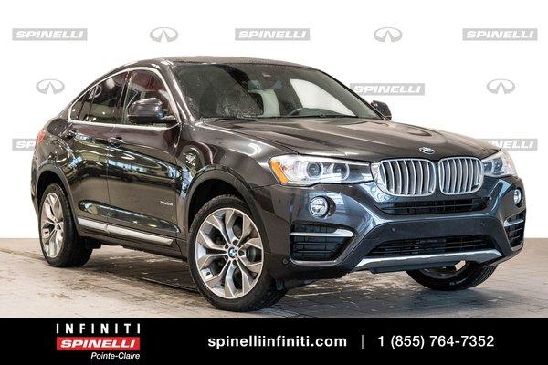 2017 BMW X4 XDrive28i -- GPS - HEAD-UP DISPLAY --