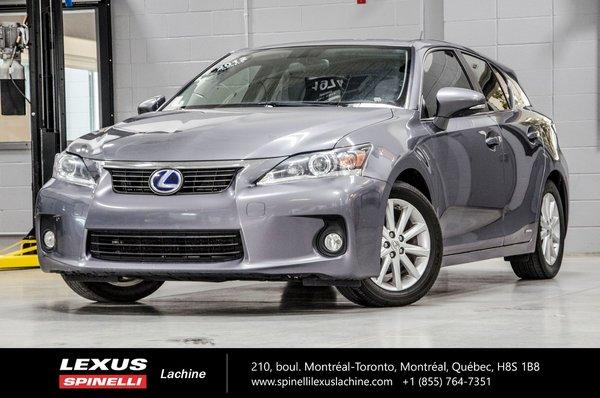 2012 Lexus CT 200h BASE; SIÈGES CHAUFFANTS   SONAR DE RECUL