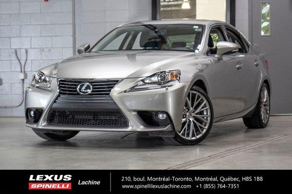 2015 Lexus IS 250 PREMIUM AWD; CUIR TOIT CAMERA BAS KILO