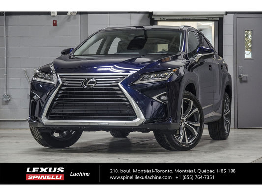 2019 Lexus RX 350 LUXURY AWD; CUIR TOIT GPS ANGLES MORTS MAGS 20'' L