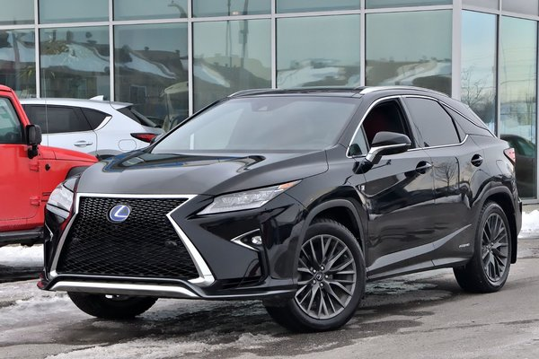 used 2017 lexus rx 450h f sport 3 hybride deal pending tres rare